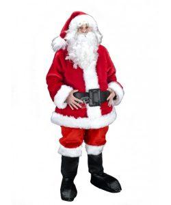 Nikolaus Weihnachtsmann Maskottchen Lauffiguren Kostüme. Produktion Herstellung Professionell bei www.Maskottchen-shop.de