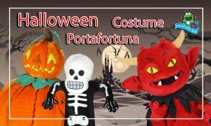 Halloween Maskottchen Kostüm Mascot Costume Lauffigur Werbefigur Promotion