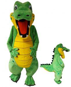 Krokodil Kostüm Maskottchen 268c Werbefigur Promotion Show günstig kaufen