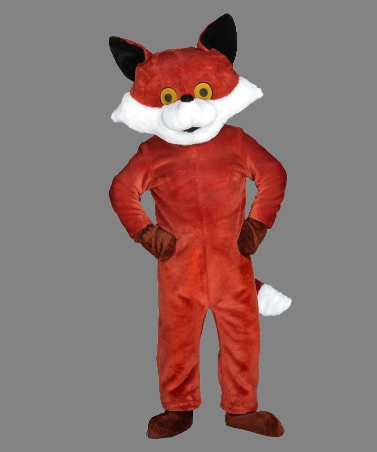 79p Fuchs Kostüm Maskottchen
