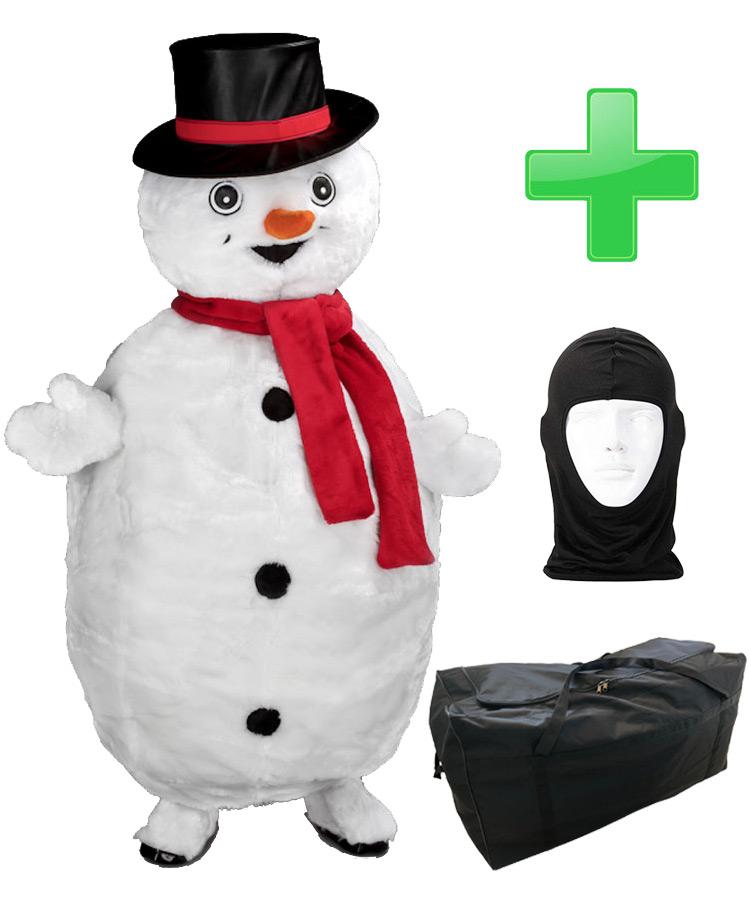 Schneemann Kostüm 41b Maskottchen kaufen