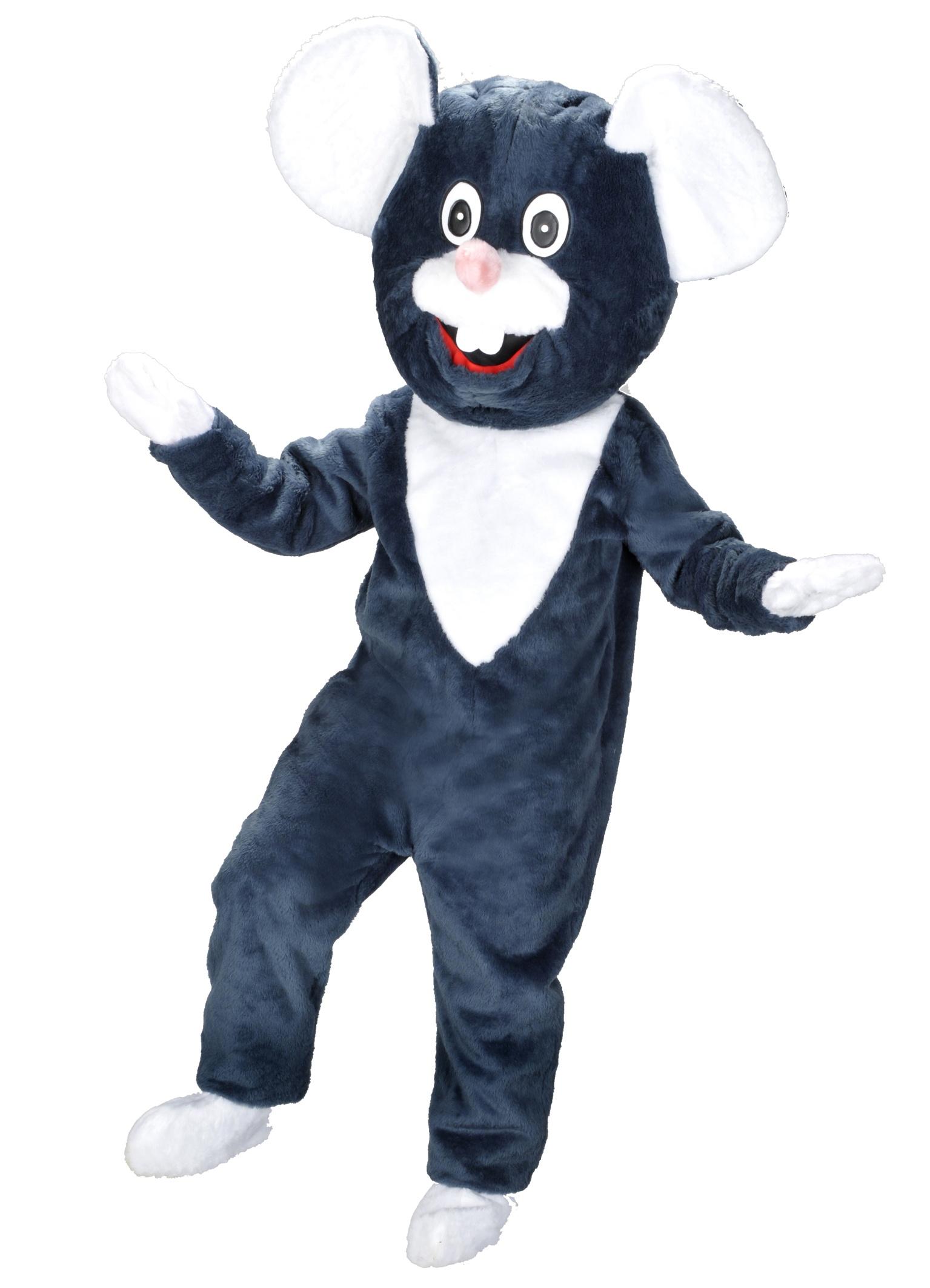 Maus Kostüm 1p Maskottchen