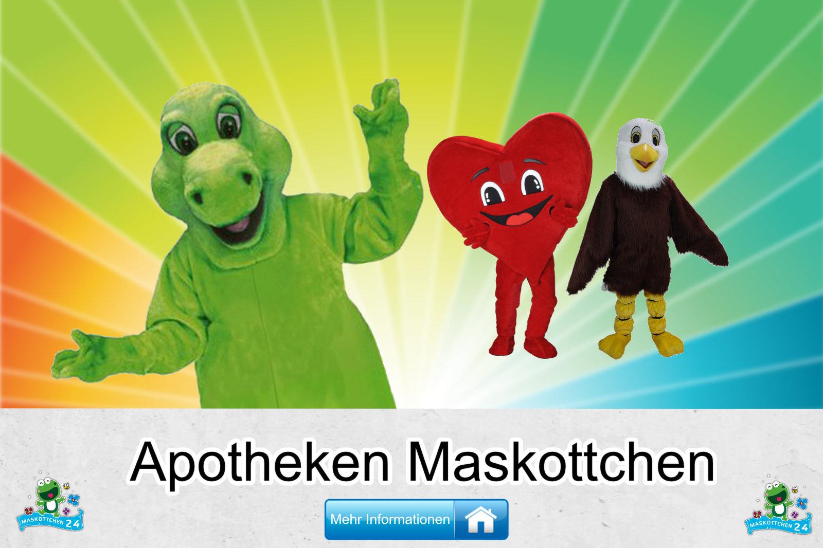 Apotheken Maskottchen Kostüm Hersteller Firma günstig kaufen