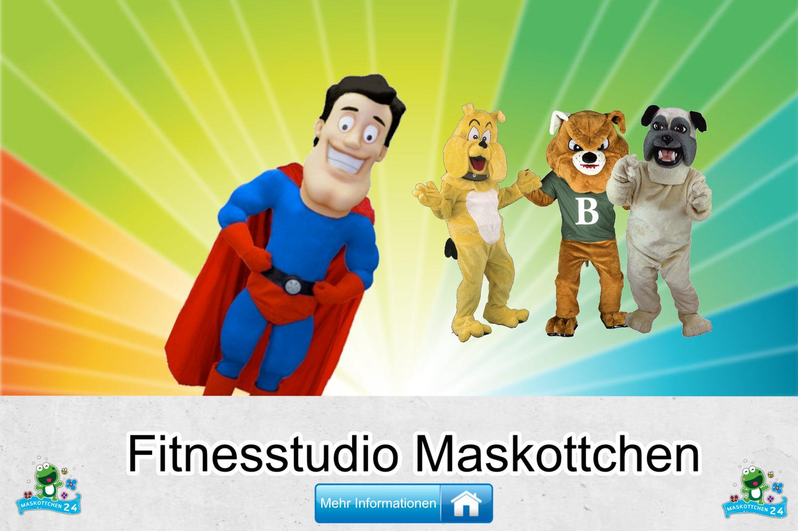 Fitnesstudio Kostüme Maskottchen Herstellung Firma günstig kaufen