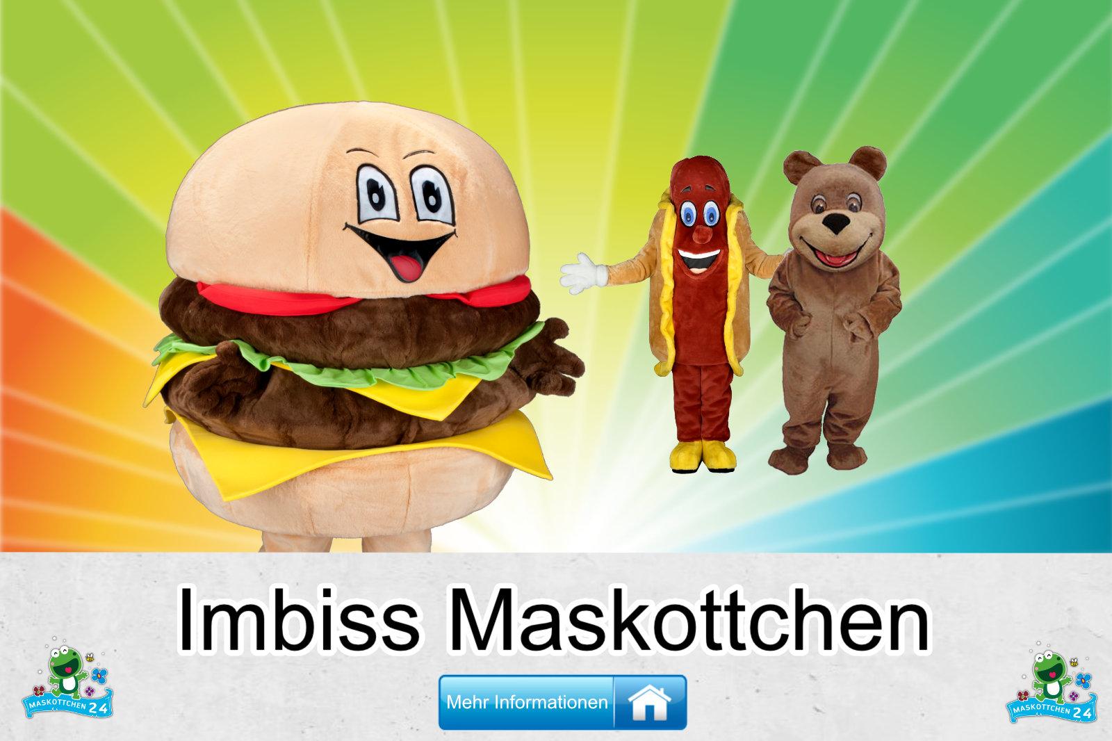 Imbiss Kostüme Maskottchen Herstellung Firma günstig kaufen