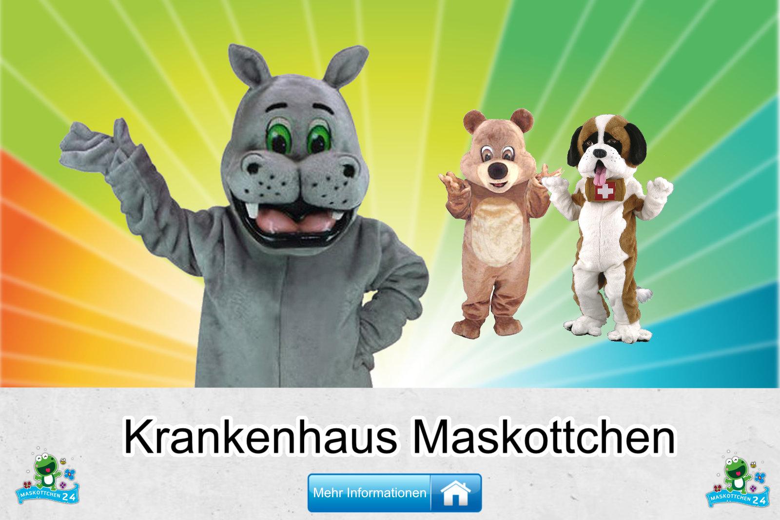Krankenhaus Kostüme Maskottchen Herstellung Firma günstig kaufen