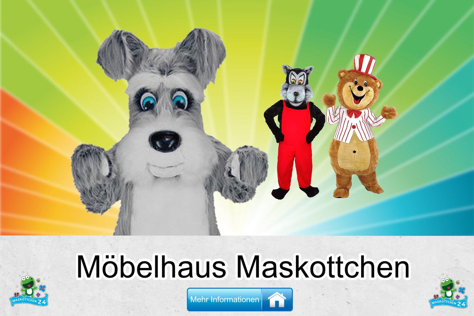 Möbelhaus Kostüme Maskottchen Herstellung Firma günstig kaufen