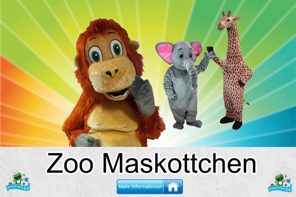 Zoo Kostüme Maskottchen Herstellung Firma günstig kaufen