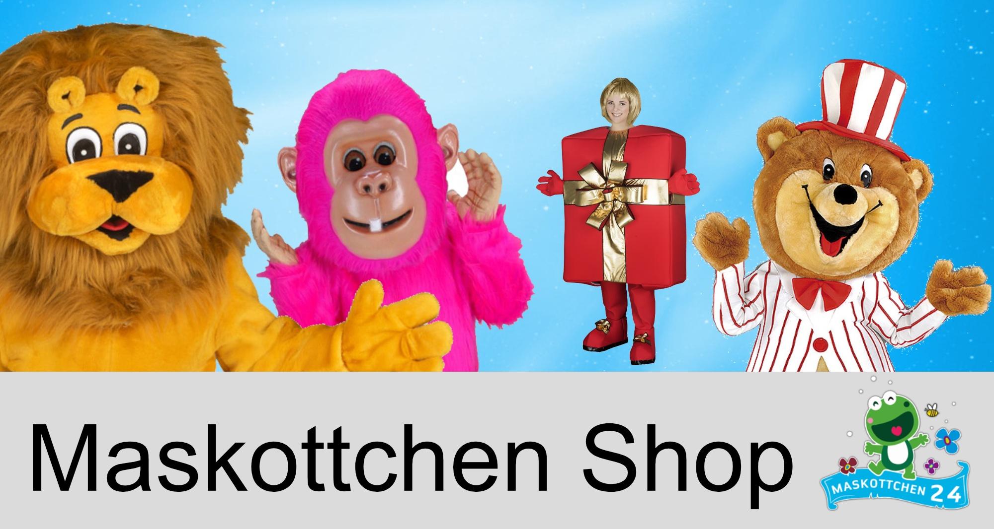 Maskottchen Shop Kostüme günstig kaufen