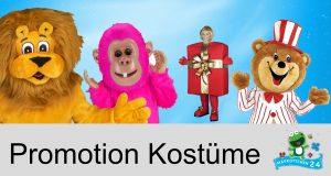 Promotion Kostüm Produktion Maskottchen kaufen