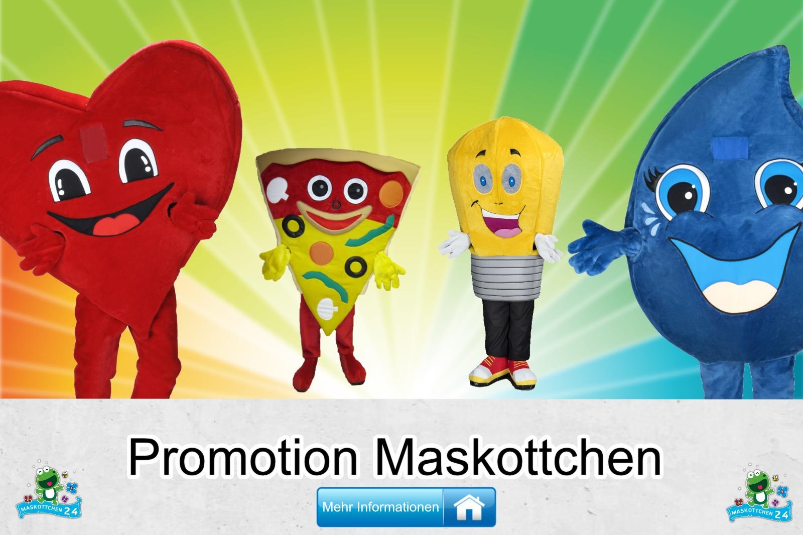 Promotion Kostüm Produktion Maskottchen