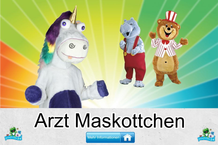 Arzt Kostüme Maskottchen Karneval Produktion Firma Bau