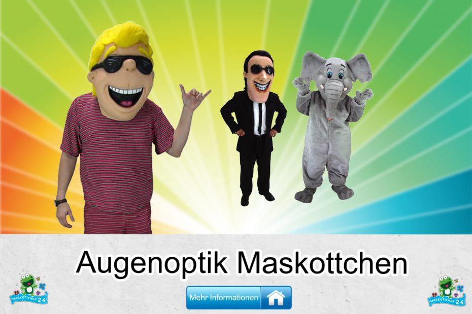 Augenoptik Kostüme Maskottchen Karneval Produktion Firma Bau