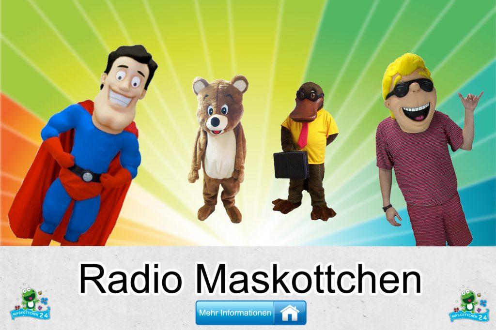 Radio Kostüme Maskottchen Karneval Produktion Firma Bau