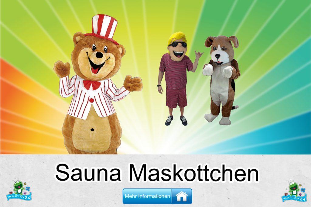 Sauna Kostüme Maskottchen Karneval Produktion Firma Bau