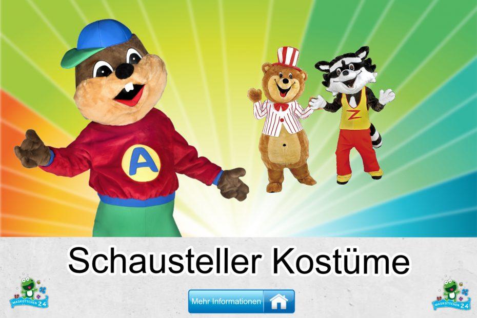 Schausteller Kostüme Maskottchen Karneval Produktion Firma Bau