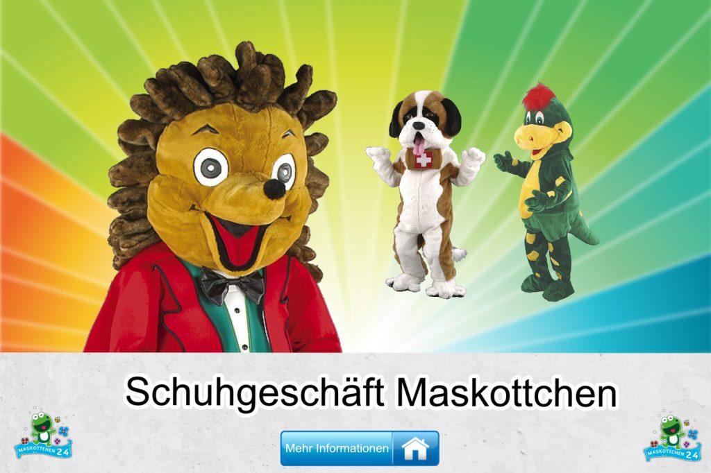 Schuhgeschäft Kostüme Maskottchen Karneval Produktion Firma Bau