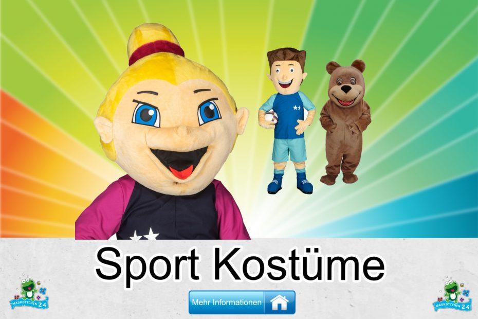 Sport Kostüme Maskottchen Karneval Produktion Firma Bau