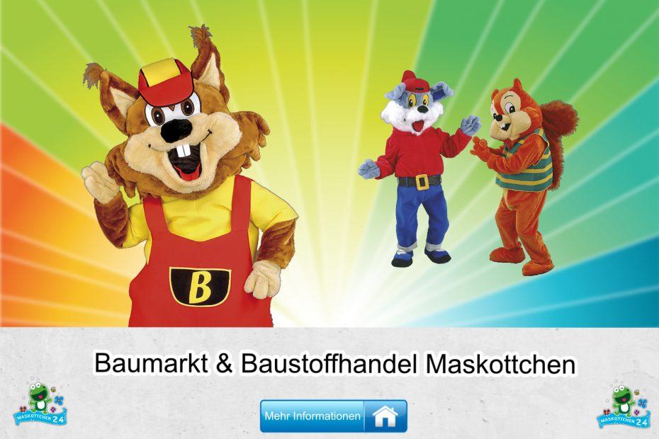 Baumarkt Baustoffhandel Kostüme Maskottchen Karneval Produktion Firma Bau