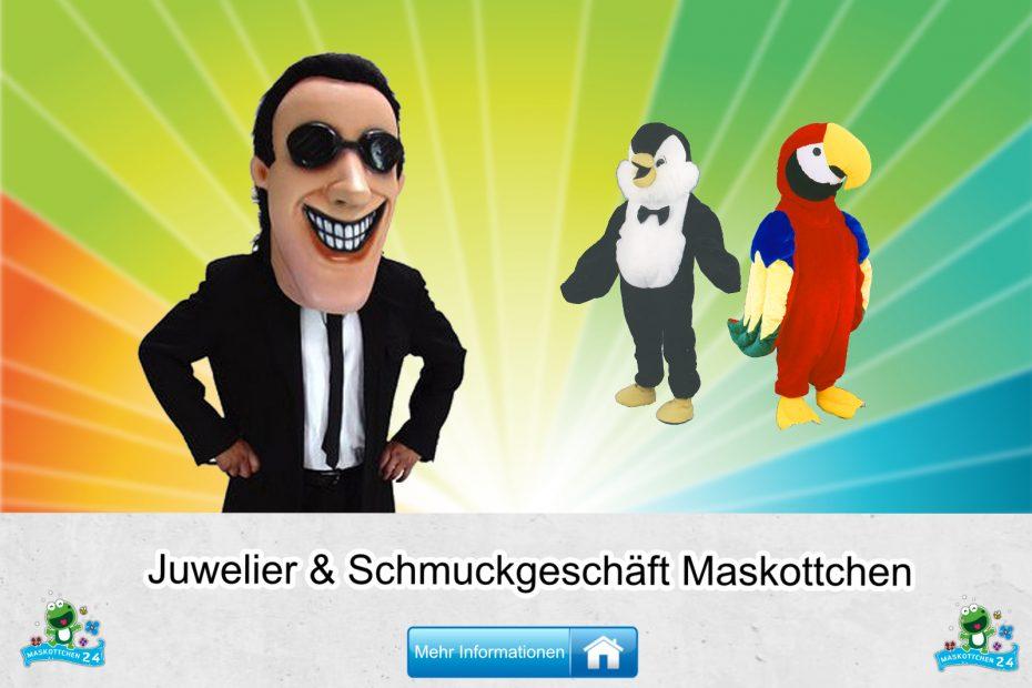 Juwelier Schmuckgeschäft Kostüme Maskottchen Karneval Produktion Firma Bau