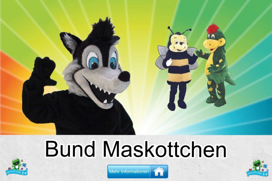 Bund-Kostueme-Maskottchen-Karneval-Produktion-Firma-Bau