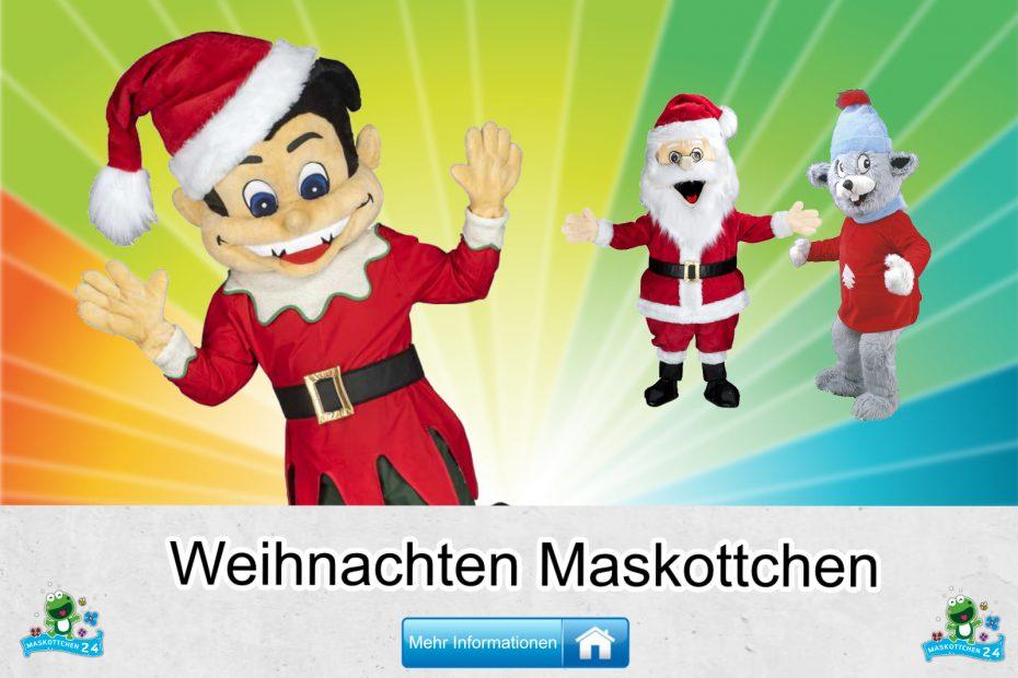 Weihnachten-Kostueme-Maskottchen-Karneval-Produktion-Firma-Bau