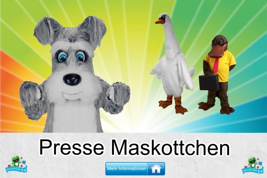Presse-Kostueme-Maskottchen-Karneval-Produktion-Firma-Bau