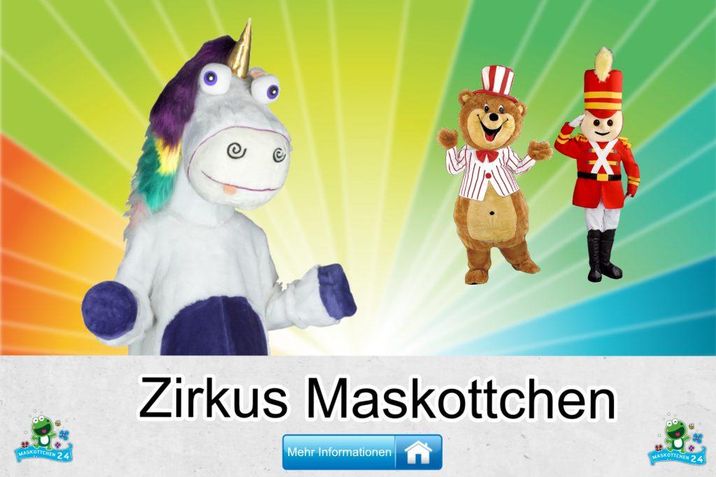 Zirkus-Kostueme-Maskottchen-Karneval-Produktion-Firma-Bau