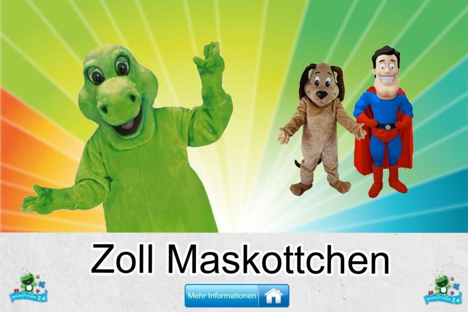 Zoll-Kostueme-Maskottchen-Karneval-Produktion-Firma-Bau