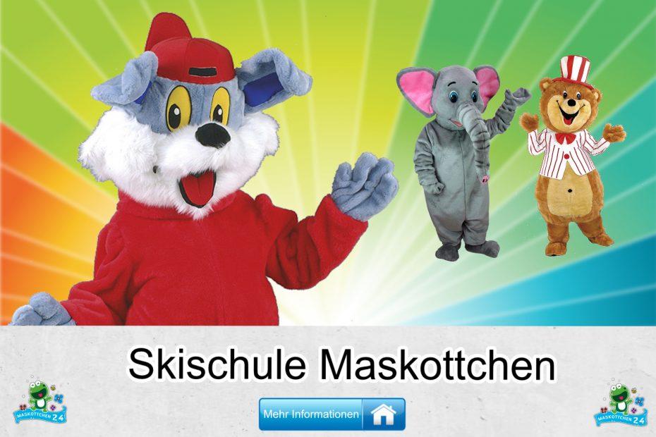 Skischule-Kostueme-Maskottchen-Karneval-Produktion-Firma-Bau